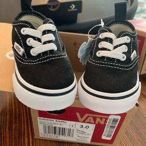 Vans Shoes - Vans Authentic Elastic Infant Size 3 NWT